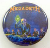 Megadeth - 'Rust in Peace' 32mm Badge